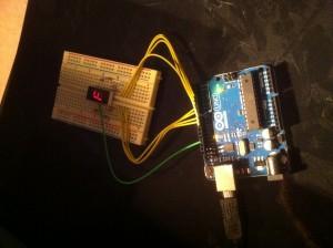 Arduino Counting Breadboard