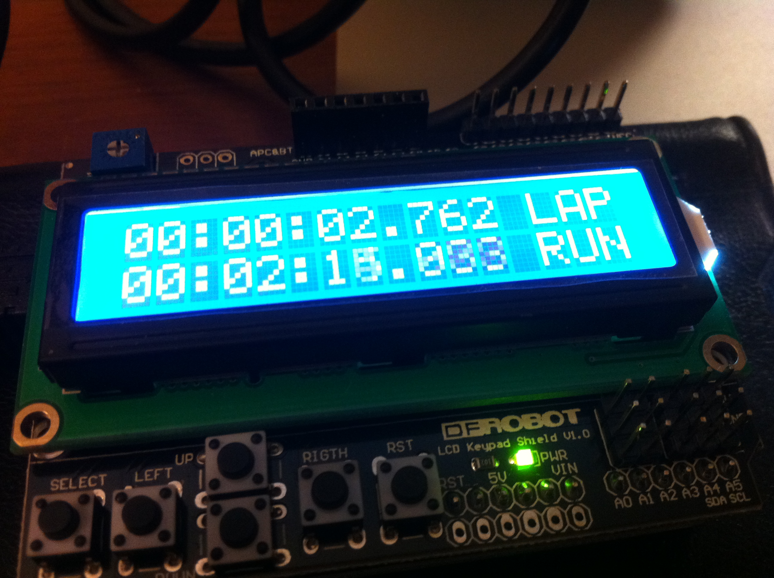Arduino Tinkering My Life H4ck3d How To Build Stopwatch Circuit With An